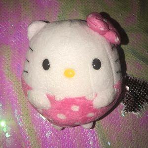TY chubby Hello Kitty Mini Plush
